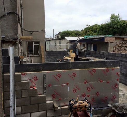 Builder in Devon - Block work example