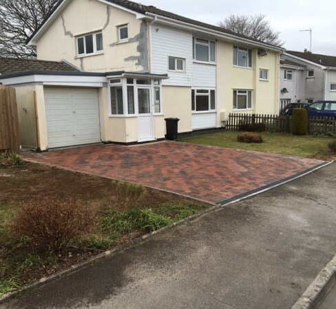 Block paving driveways West Devon